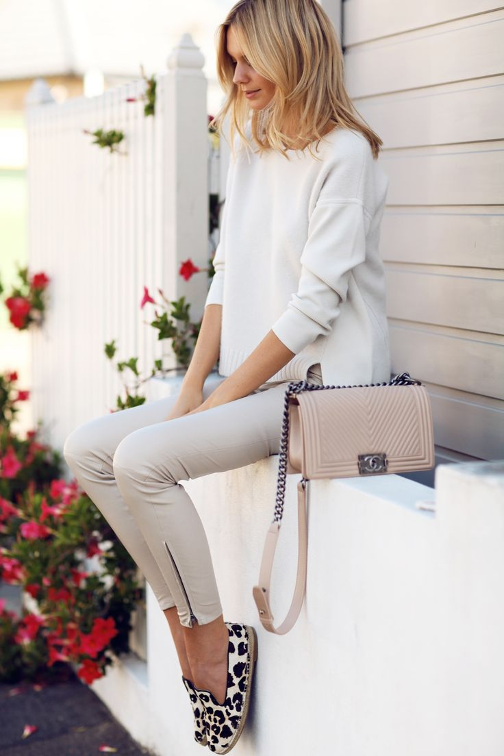 summer leather pant