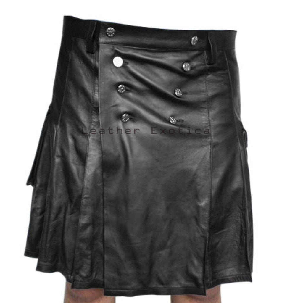 1000  images about Leather Kilts For Men on Pinterest | Leather ...