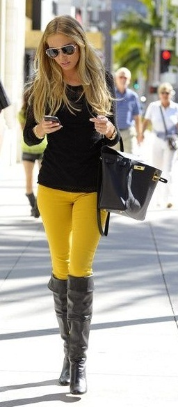 colored skinny jeans1
