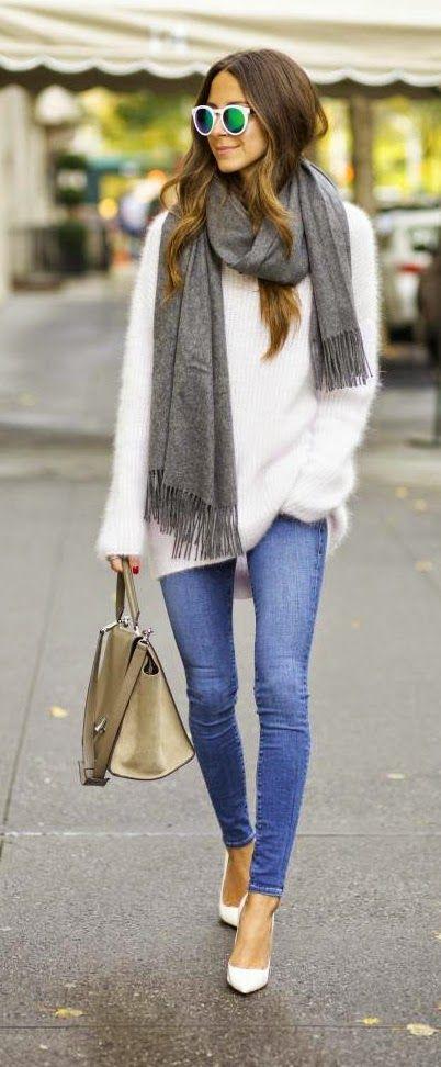 skinny jean sweater