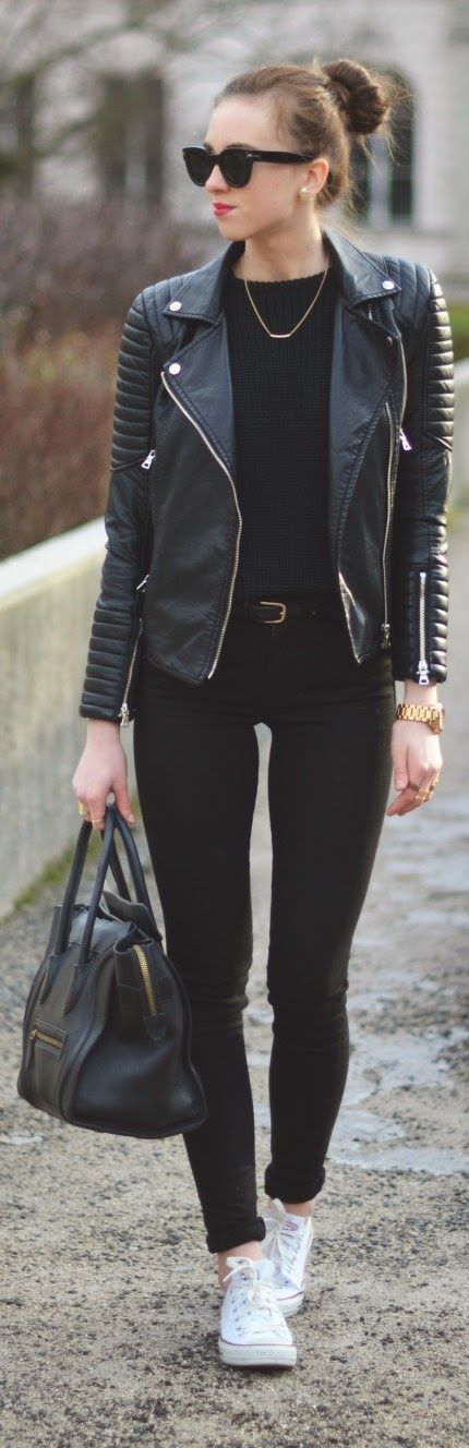skinny jeans with jacket