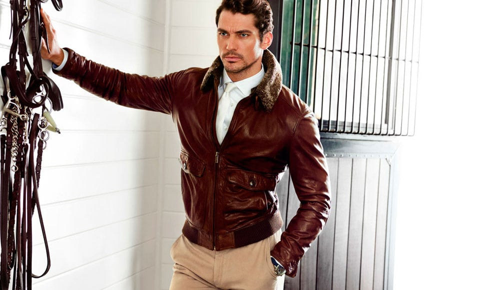 Leather Bomber Jacket Gives You A Classier Look