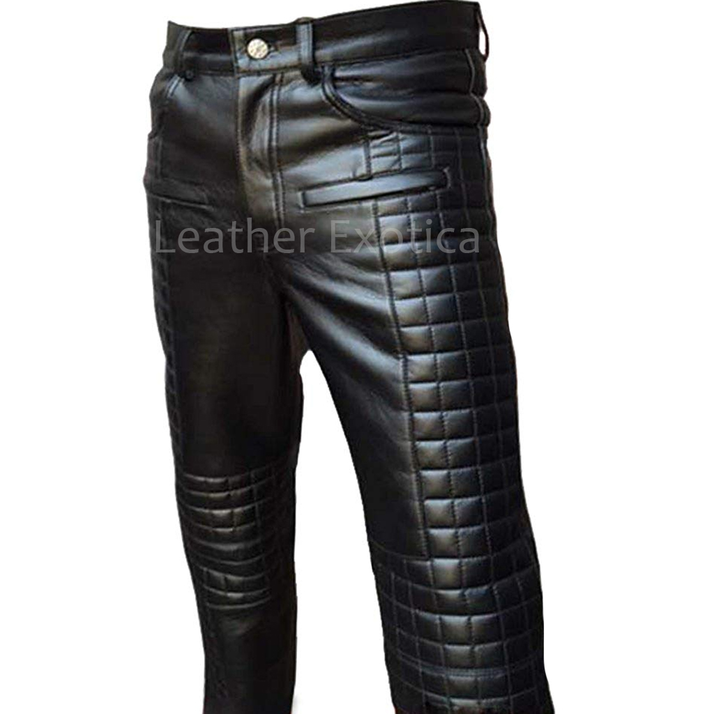 Mens Black Leather Pants Cheaper Than Retail Price Buy Clothing Accessories And Lifestyle Products For Women Men