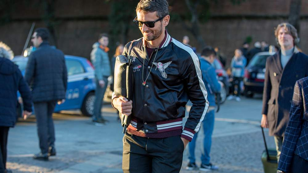 Trendy Leather Bomber Jacket Styles And Combinations